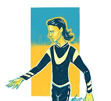 Figure Skater Loki by dragonkitty34