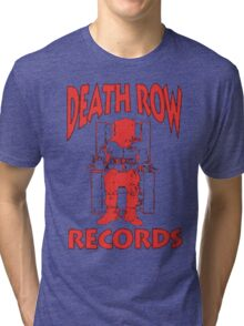 Deathrow Records Tri-blend T-Shirt