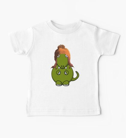 A Dinosaur in Jayne's Hat - Firefly Baby Tee