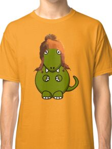 A Dinosaur in Jayne's Hat - Firefly Classic T-Shirt