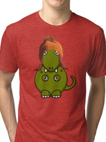 A Dinosaur in Jayne's Hat - Firefly Tri-blend T-Shirt