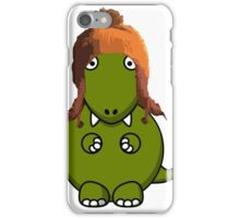 A Dinosaur in Jayne's Hat - Firefly iPhone Case/Skin