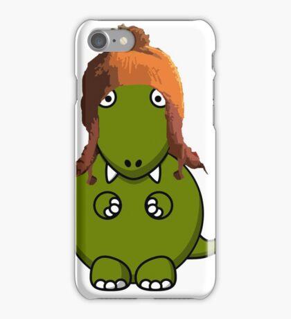 A Dinosaur in Jayne's Hat - Firefly iPhone Case/Skin