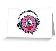 Little Monster Happy Greeting Card