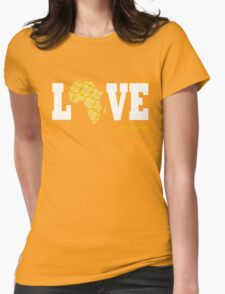 AFRICA LOVE Womens Fitted T-Shirt