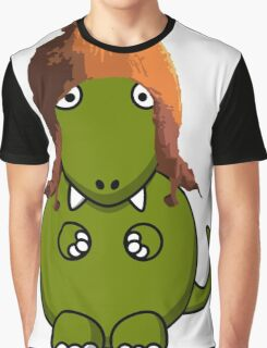 A Dinosaur in Jayne's Hat - Firefly Graphic T-Shirt