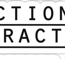 I <3 fictional characters Sticker