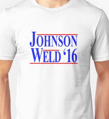 Gary Johnson Bill Weld 2016 - Libertarian Unisex T-Shirt