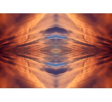 Abstract symmetrical background. Photographic Print