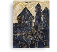 Whimsical Castle Canvas Print