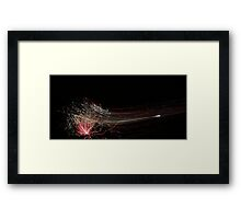 Fire wire 3 Framed Print
