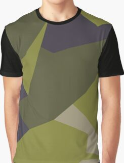 M90 Camo Pattern Graphic T-Shirt