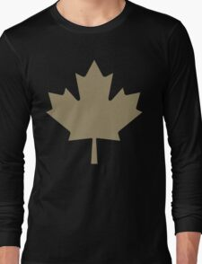 Maple Leaf - Drake Gold Long Sleeve T-Shirt