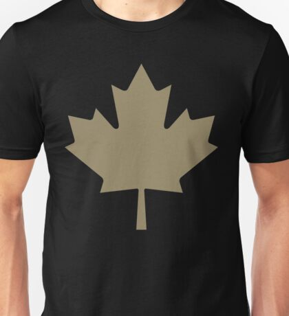 Maple Leaf - Drake Gold Unisex T-Shirt