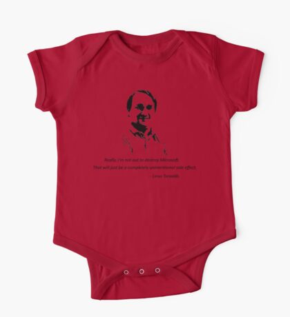 Linux - Linus Torvalds One Piece - Short Sleeve