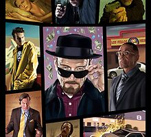 Breaking Bad Grand Theft Auto Design by TonyLDesigns