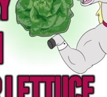 Locally Grown Butter Lettuce Sticker