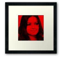 Ariel Winter - Celebrity Framed Print
