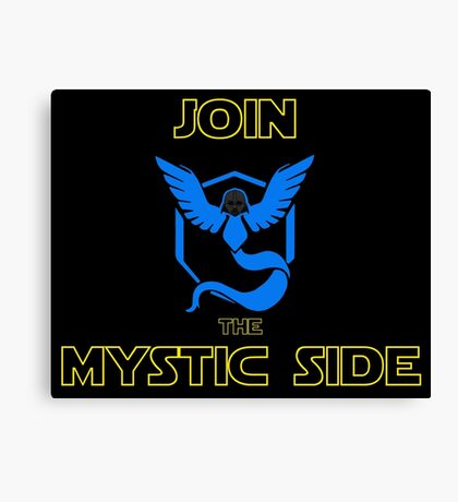 Join The Mystic Side Canvas Print