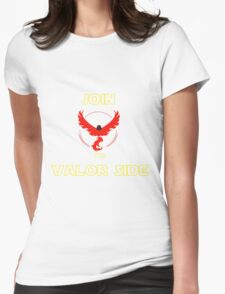 Join The Valor Side Womens Fitted T-Shirt