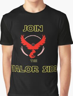 Join The Valor Side Graphic T-Shirt
