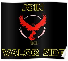Join The Valor Side Poster