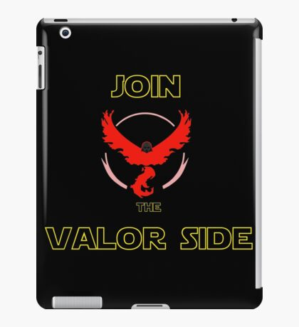 Join The Valor Side iPad Case/Skin