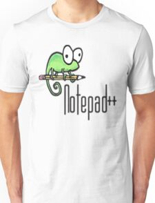 Notepad++ Unisex T-Shirt