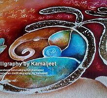 GANESHA n OM by Kamaljeet Kaur