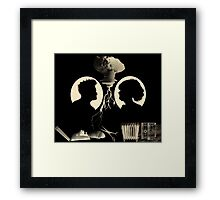 In Heaven, Everything is Fine Framed Print