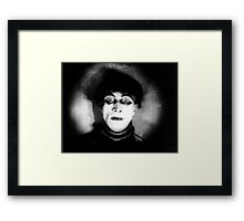 Somnambulist from The Cabinet of Dr Caligari Framed Print
