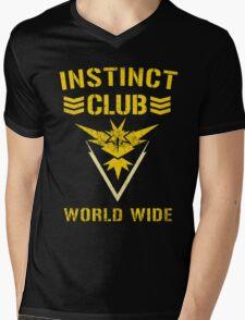 Team Instinct Club World Wide Mens V-Neck T-Shirt