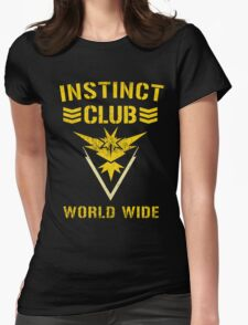 Team Instinct Club World Wide Womens Fitted T-Shirt
