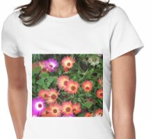 Riot of Colour - Pretty Livingstone Daisies Womens Fitted T-Shirt