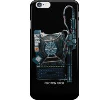 Ghosbusters proton pack lazer iPhone Case/Skin