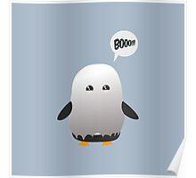 halloween penguin Poster