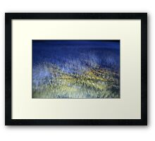 From the clouds Framed Print
