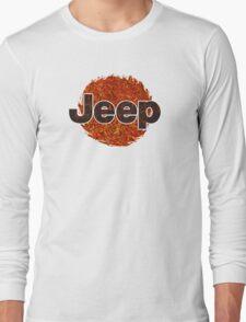 Lava Jeep typograph Long Sleeve T-Shirt