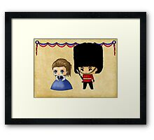 British Chibis Framed Print