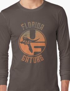 Vintage Florida Gators Design Long Sleeve T-Shirt