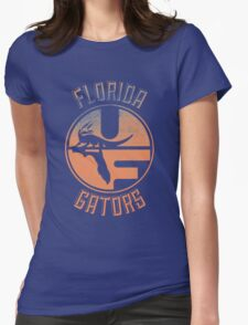 Vintage Florida Gators Design Womens Fitted T-Shirt