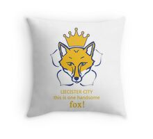 Leicester City FC Champions Primer League 2016 Throw Pillow