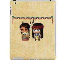Chibi American Indians iPad Case/Skin