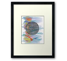 See the Moon Framed Print