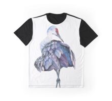 Sandhill Crane Graphic T-Shirt