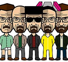 Walter White by quimmirabet