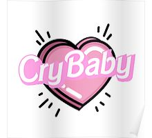 ♡CRYBABY heart♡ Poster