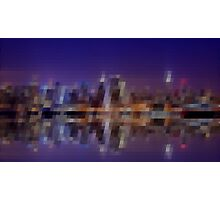 New York City Pixelart Photographic Print