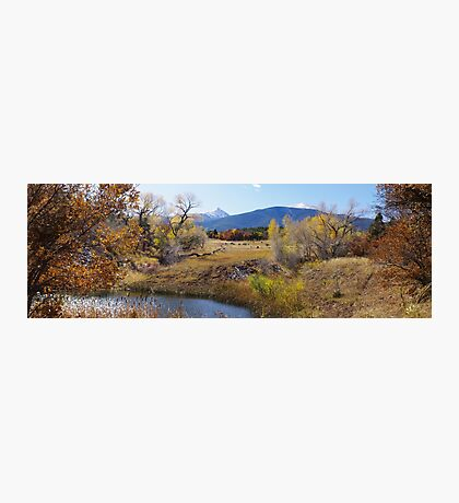 Autumn Ranch Photographic Print