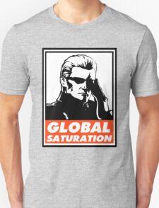 Wesker Global Saturation Obey Design Unisex T-Shirt